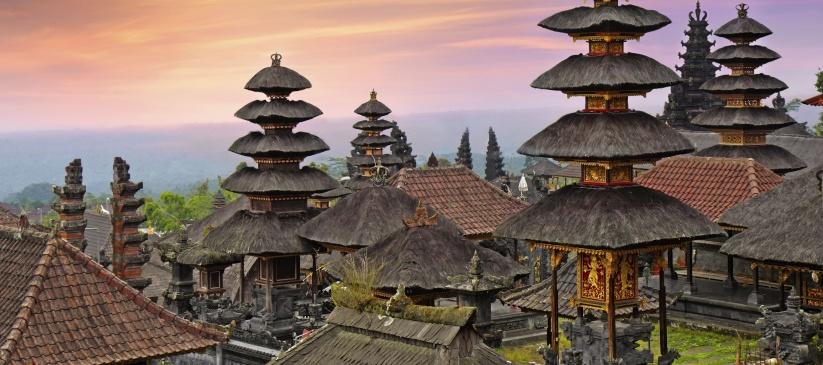 Indonésie, temple - Pura Besakih