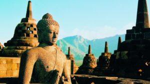 Indonésie - Borobudur